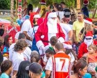 10 dia de entrega caravana de natal 2018