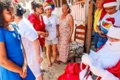 9 dia de entrega caravana de natal 2018